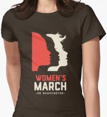 Women's March on Washington 2017 Official Womens Fitted T-Shirt