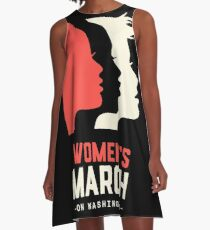 Women's March on Washington 2017 Official A-Line Dress