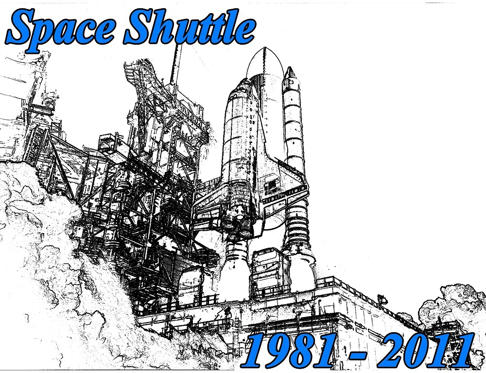 Space Shuttle Tribute by iMacMike
