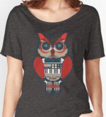 Future Owl Mechanical Nerd shirt Women's Relaxed Fit T-Shirt