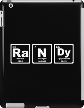 Randy - Periodic Table by graphix