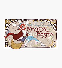 Little Witch Academia Shiny Chariot Photographic Print