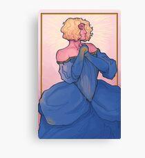 Sun King Dress Fling  Canvas Print