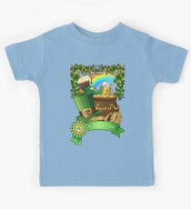 Lucky St. Patrick's Day Redbubble Funny T Shirts Kids Tee