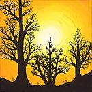 Shadows of the Seasons Summer  by morbidheart