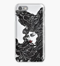 Raven Haired iPhone Case/Skin