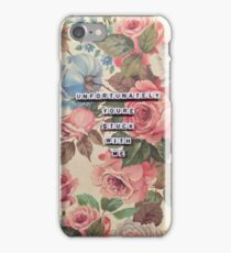 Oh Sarcastic Valentine  iPhone Case/Skin