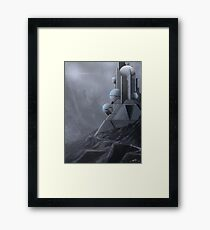 Temple of Science-Fiction Framed Print