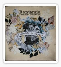 benjamin francis leftwich Sticker