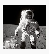 Apollo moonwalk. Photographic Print