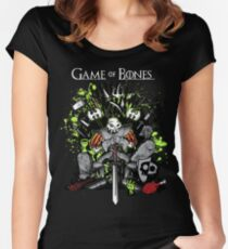 Game of Bones Women's Fitted Scoop T-Shirt