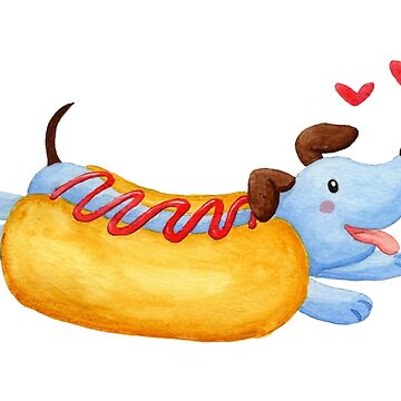 Weenie Dog by clockworkkite