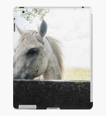 White Horse iPad Case/Skin