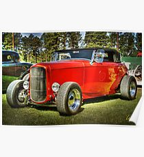 Red Ragtop Poster