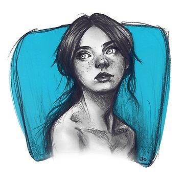 Blue by jorujam