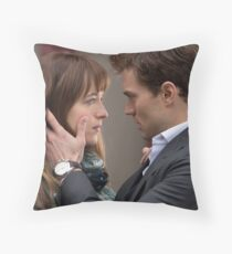 Fifty Shades of Grey Ana Steele and Christian Grey Magical Moment Throw Pillow