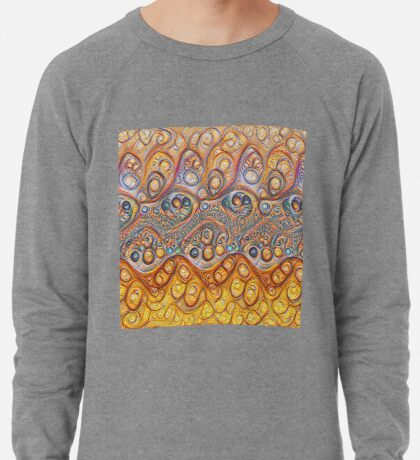 Sand waves #DeepDream #Art Lightweight Sweatshirt