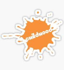Childhood (Nickelodeon Inspired) Sticker