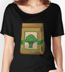 Wetdryvac Presents Glitch: Food green eggs Women's Relaxed Fit T-Shirt