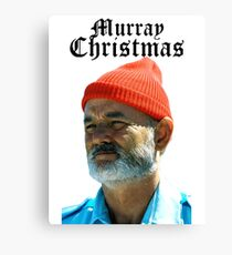 Murray Christmas - Bill Murray  Canvas Print