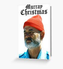 Murray Christmas - Bill Murray  Greeting Card
