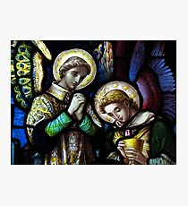 Angels In Love Photographic Print