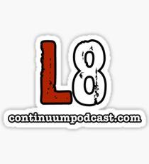 L8 Podcast Sticker