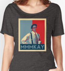 Bill Lumbergh Quote mmmkay Funny Office Space Women's Relaxed Fit T-Shirt
