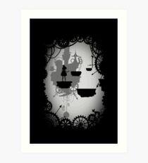 Alice in der Vorhölle Kunstdruck