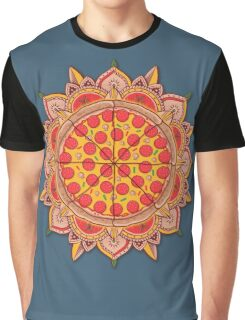 Sacred Pizza Graphic T-Shirt
