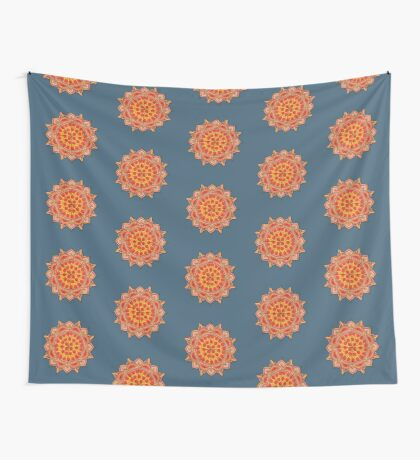 Sacred Pizza Wall Tapestry