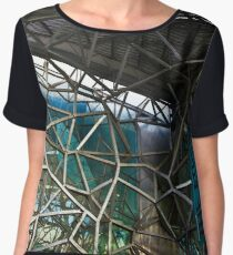 The Atrium Fracture Gallery Federation Square Women's Chiffon Top