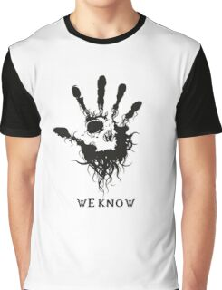Skyrim - we know Graphic T-Shirt