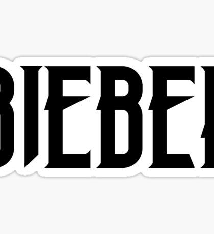 BIEBER Sticker