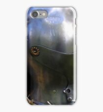 Medieval dented helmet iPhone Case/Skin