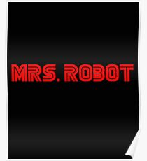 Mrs (miss) Robot Poster