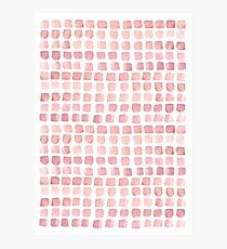 Pink blocks Photographic Print