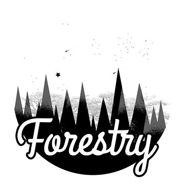 into the wild forestry by LeeTshirt