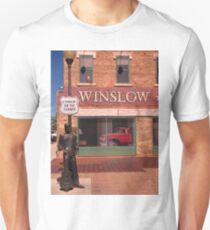 Standing on the Corner in Winslow Arizona Unisex T-Shirt