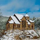 St Malo Church Chapel on a Rock by Jim Stiles