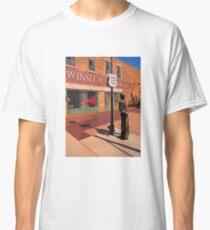 Standing on the Corner Glen Frey Tribute  Classic T-Shirt