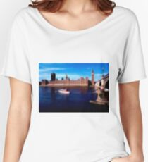 House of Parliament, Westminster, London 8 Women's Relaxed Fit T-Shirt