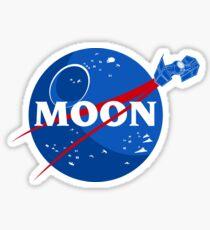 That's no Moon... Sticker