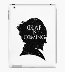 Olaf is Coming iPad Case/Skin