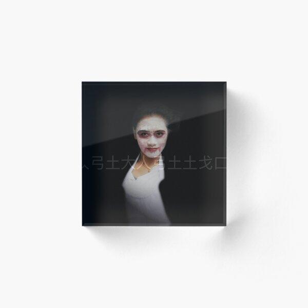 hong kong girl Acrylic Block
