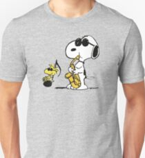 Joe Cool Playing Saxophone Unisex T-shirt