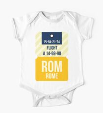 Rome Trip Tag One Piece - Short Sleeve