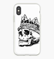 Handcraft Skull Crown iPhone Case