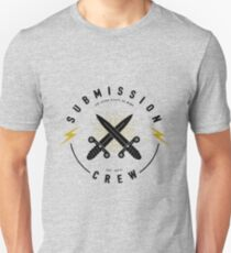 Jiu-jitsu. Submission crew. Unisex T-Shirt