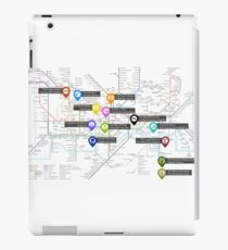 Sherlock Tube Map iPad Case/Skin